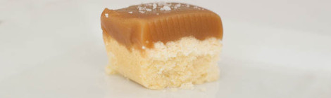 sea salt caramel shortbread