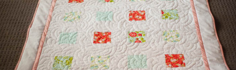 a rush of a quilt