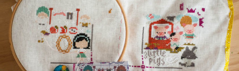 WIP Wednesday :: OUAT Sampler update